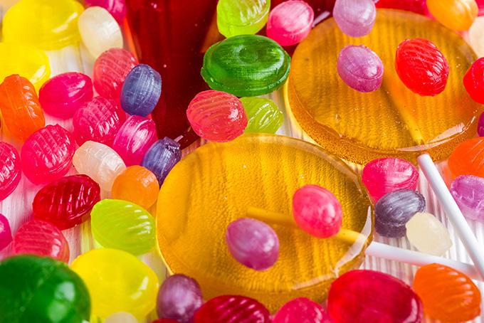 キャンディがいっぱい